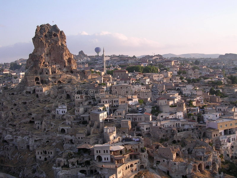 cappadocialathund arkivbilder