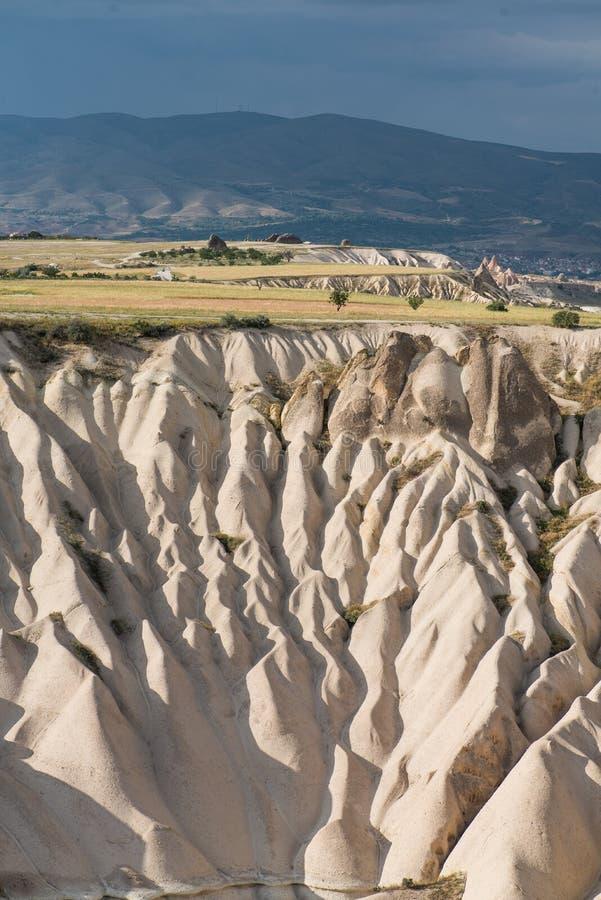 Cappadocian岩石风景 免版税库存图片