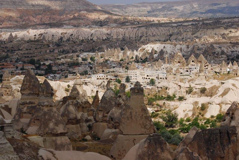 cappadocian横向火鸡 免版税库存图片