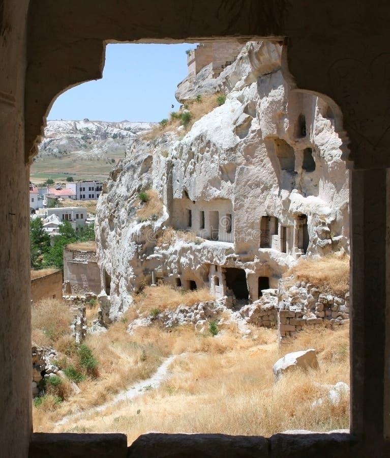 Cappadocian Fenster stockbild