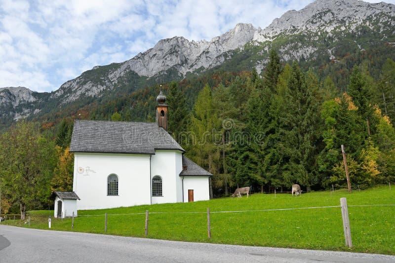 Cappella in Austria fotografie stock libere da diritti