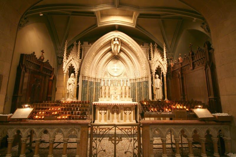 Cappella in cattedrale immagini stock