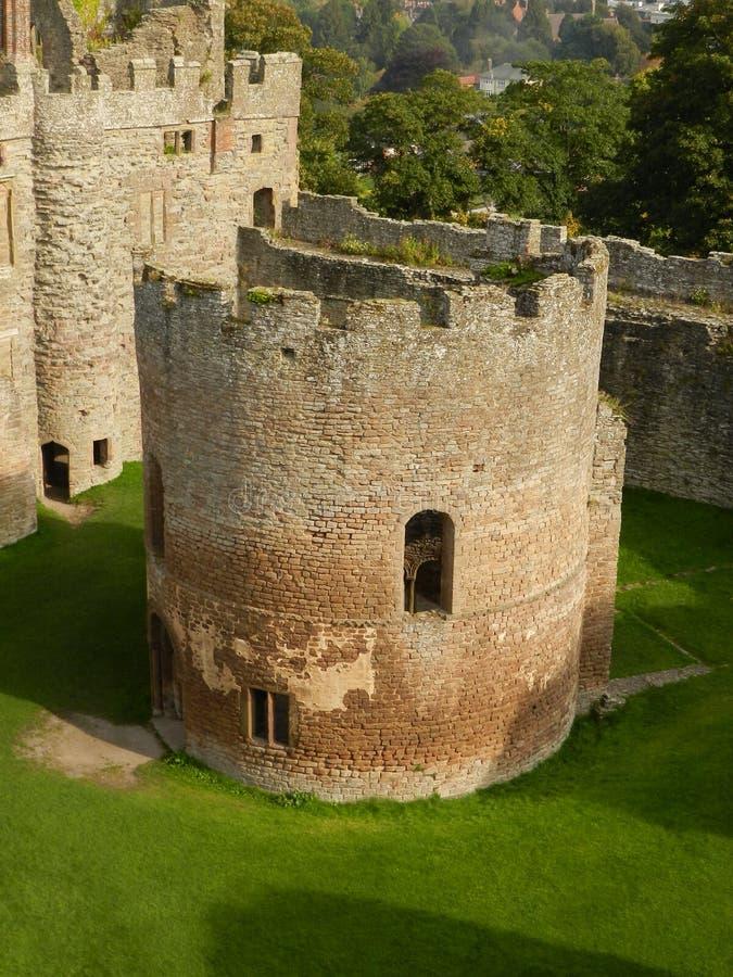 Cappella del castello di Ludlow, Ludlow shropshire l'inghilterra fotografia stock libera da diritti
