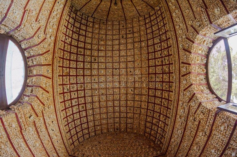 Cappella del cranio a Faro fotografia stock libera da diritti
