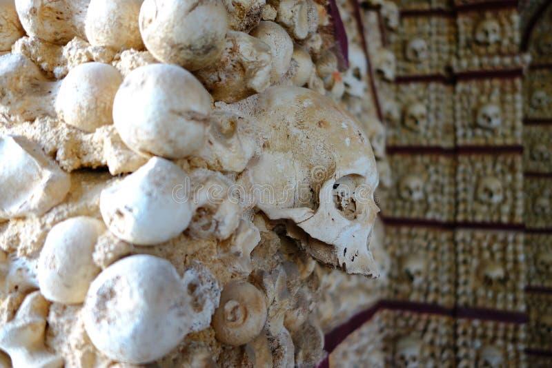 Cappella del cranio a Faro fotografie stock