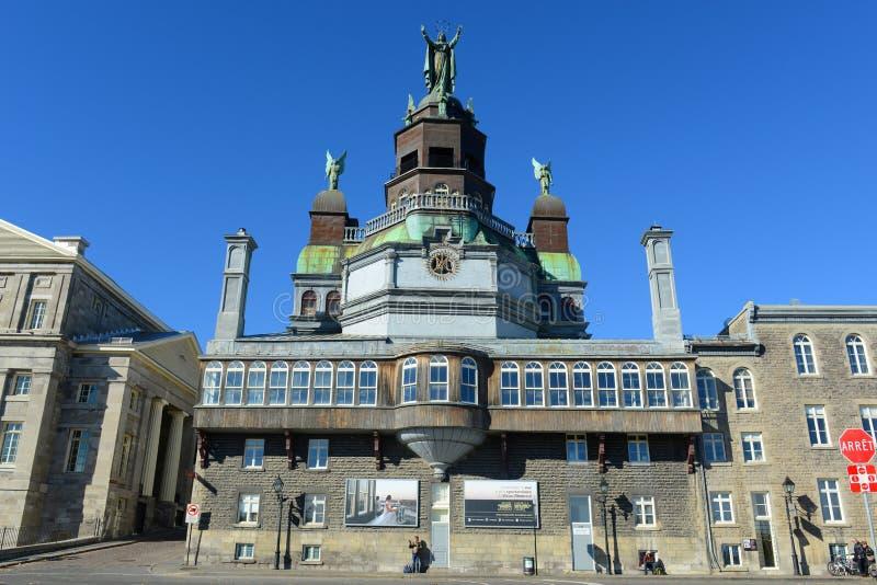 Cappella del Notre-Dame-de-Bon-Secours, Montreal immagine stock