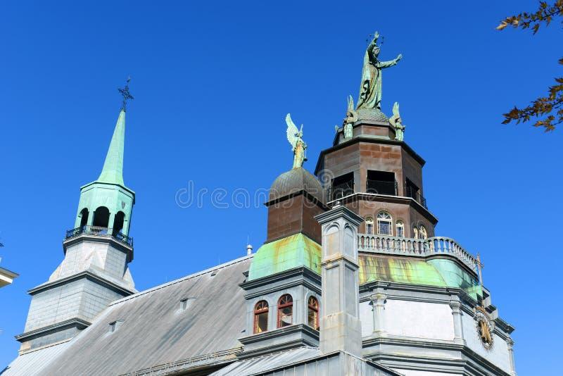 Cappella del Notre-Dame-de-Bon-Secours, Montreal immagini stock libere da diritti