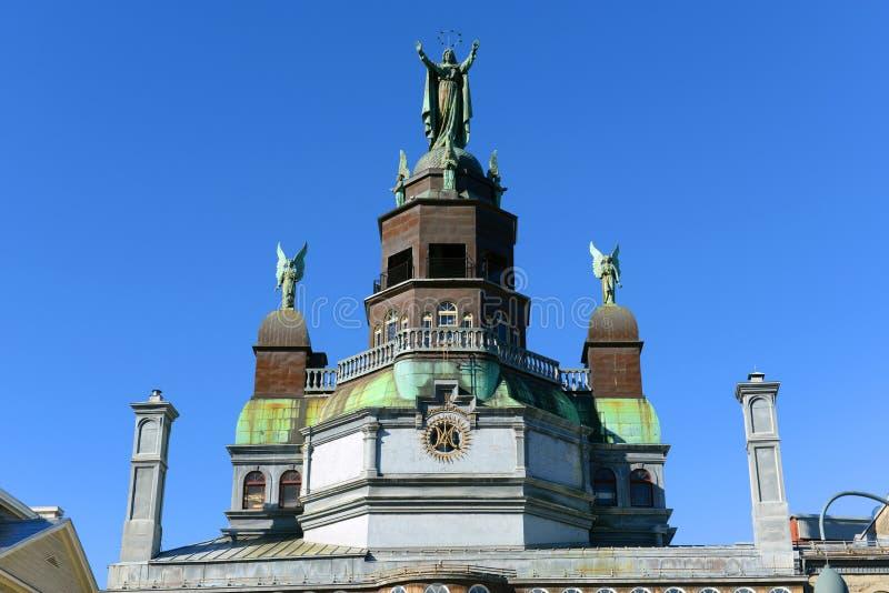 Cappella del Notre-Dame-de-Bon-Secours, Montreal immagini stock