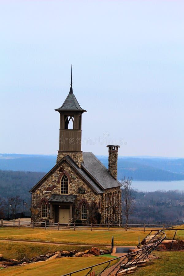 Cappella del Ozarks a grande Cedar Lodge a Branson Missouri fotografia stock