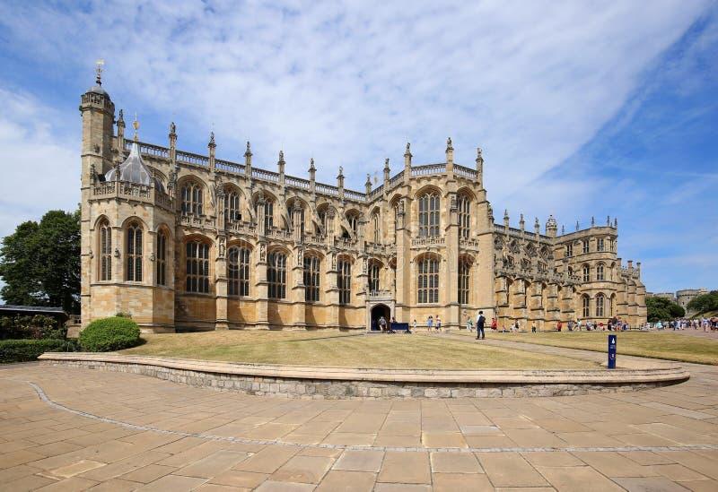 Cappella del ` s di St George in Windsor, Inghilterra, Regno Unito immagine stock