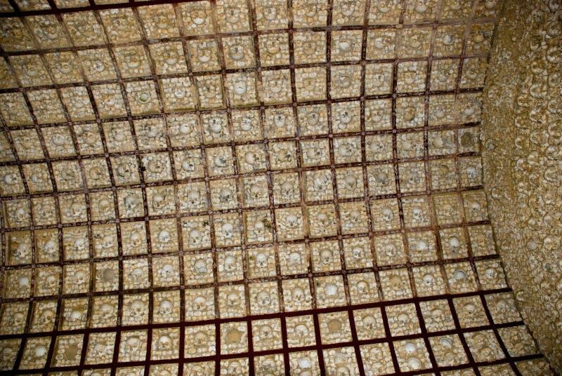 Cappella dell'osso, Faro immagini stock