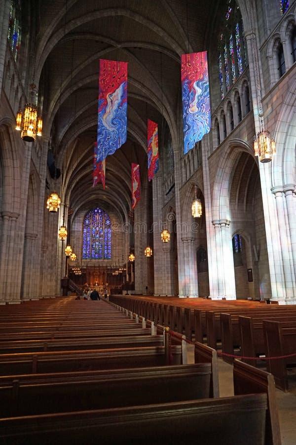 Cappella dell'Università di Princeton immagini stock libere da diritti