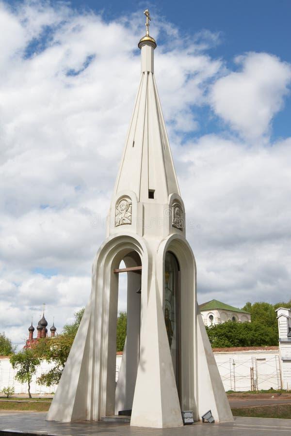 Cappella della nostra signora di Kazan fotografia stock
