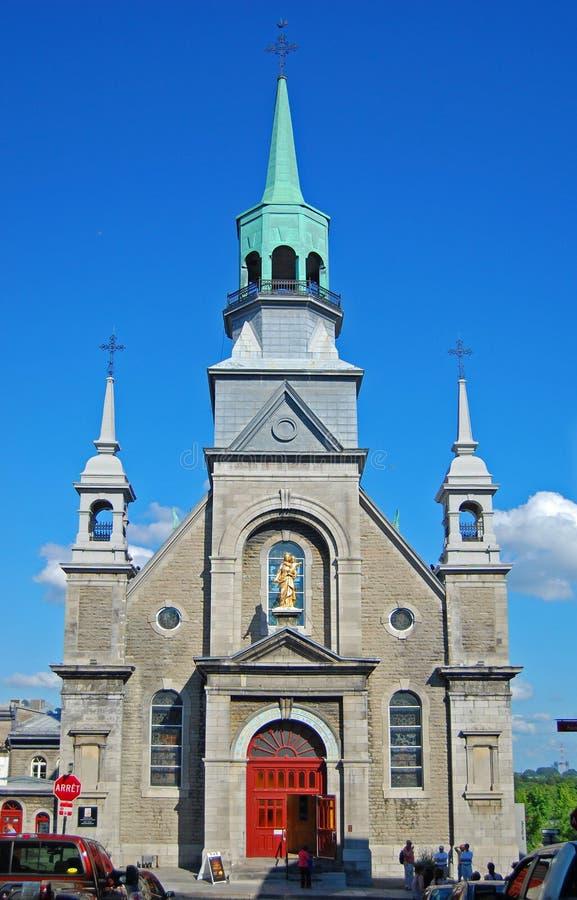 Cappella di Notre-Dame-de-Bon-Secours, Montreal, Canada immagini stock