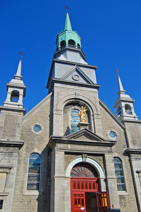 Cappella di Notre-Dame-de-Bon-Secours, Montreal, Canada fotografia stock