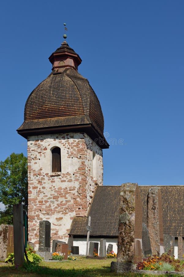 Cappella di pietra in Vardo fotografia stock