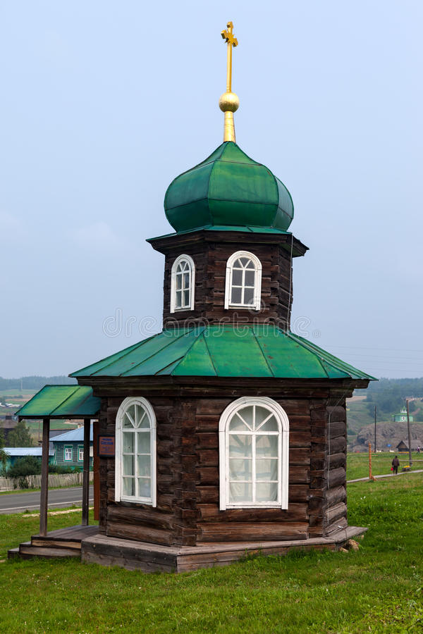 Cappella di Spasskaya fotografia stock
