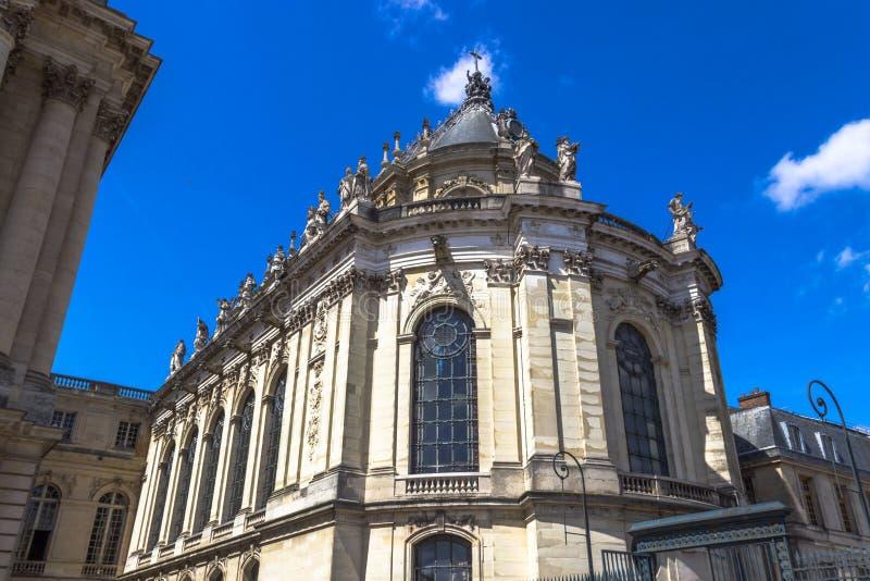 Cappella di Versailles, Francia fotografia stock libera da diritti