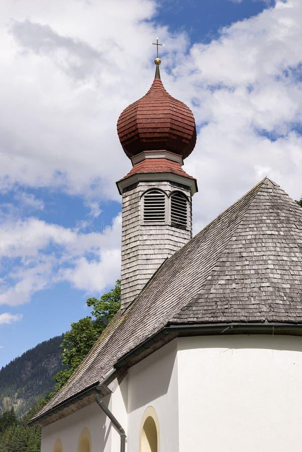 Cappella nel Tirolo immagine stock libera da diritti