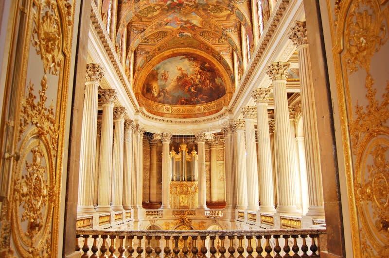 Cappella reale di Versailles, Francia fotografie stock libere da diritti
