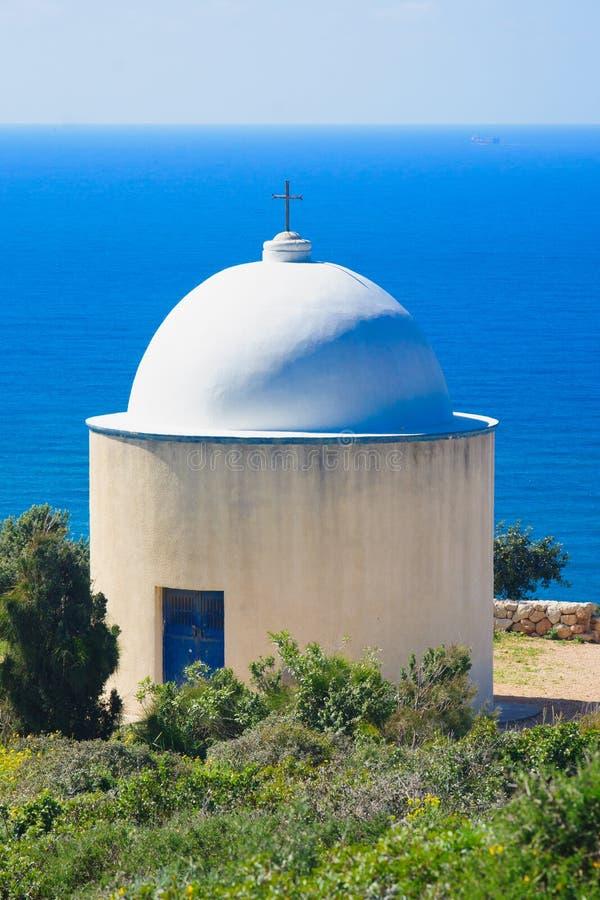 Cappella santa della famiglia, Haifa immagini stock