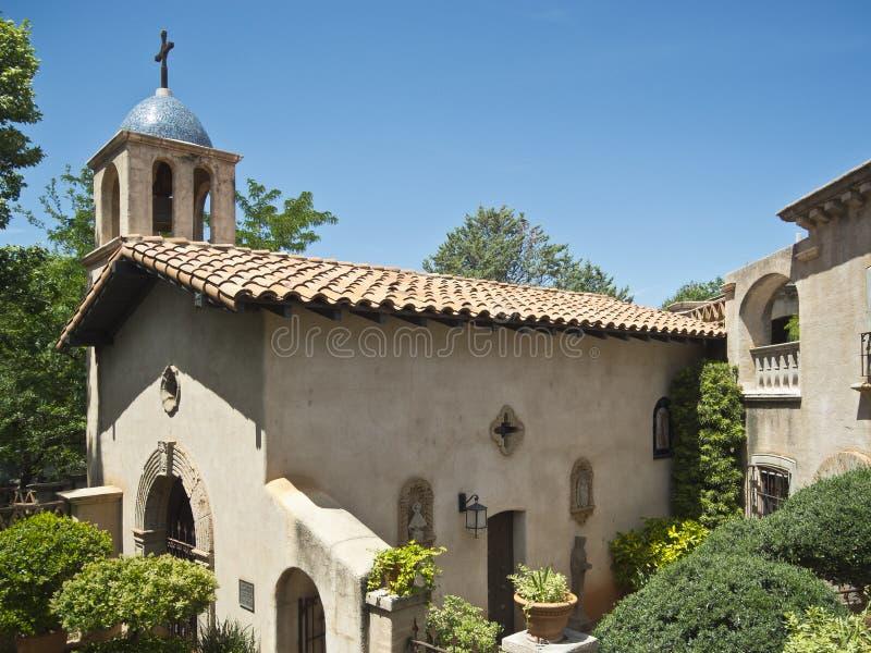 Cappella in Sedona, Arizona fotografia stock libera da diritti