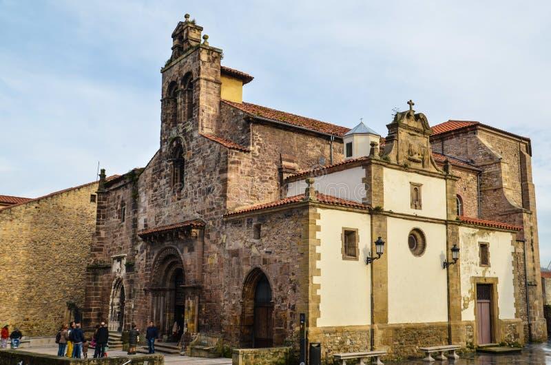 Cappellani Franciscanos di Los della chiesa fotografie stock
