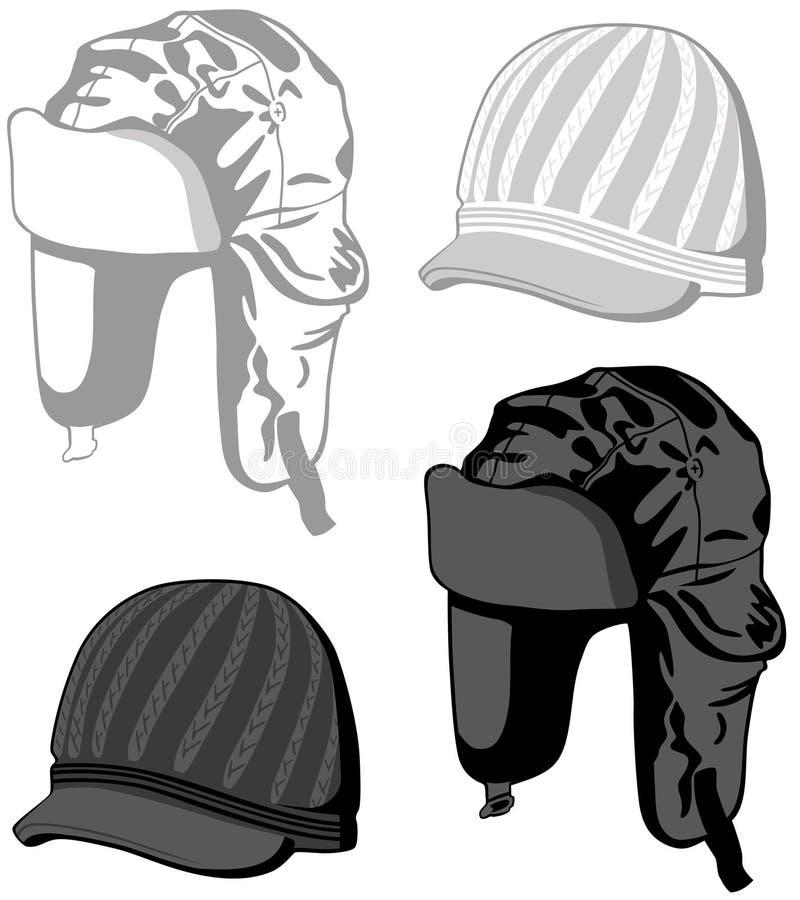 Cappelli illustrazione vettoriale