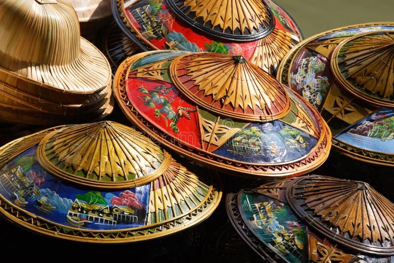 Cappelli della Tailandia fotografie stock libere da diritti