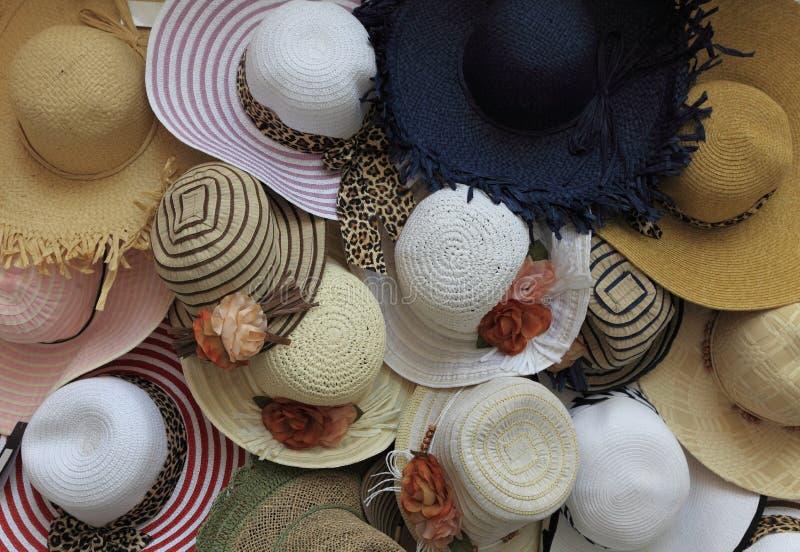 Cappelli di estate immagine stock