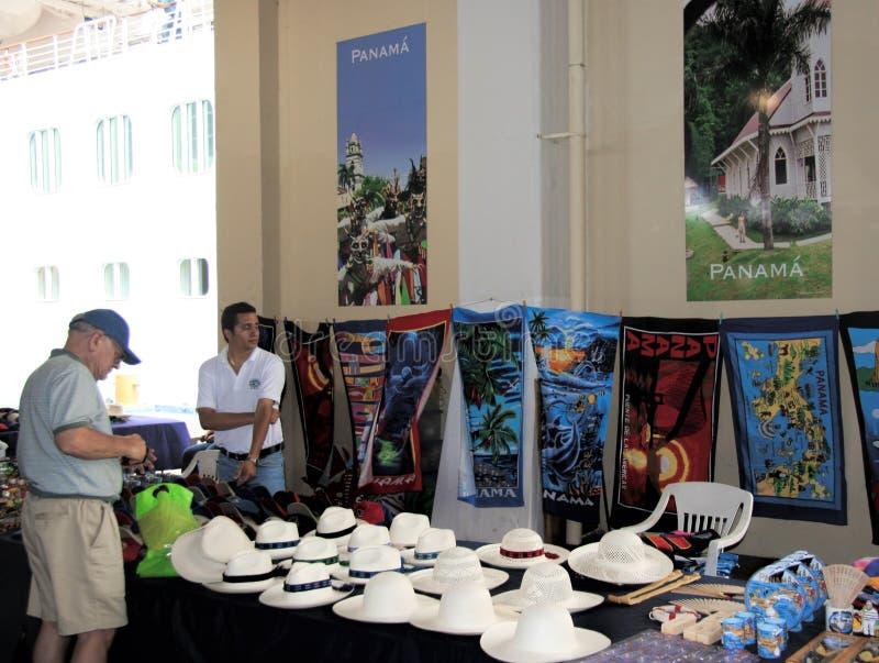 Cappelli di Panama, Panama fotografia stock