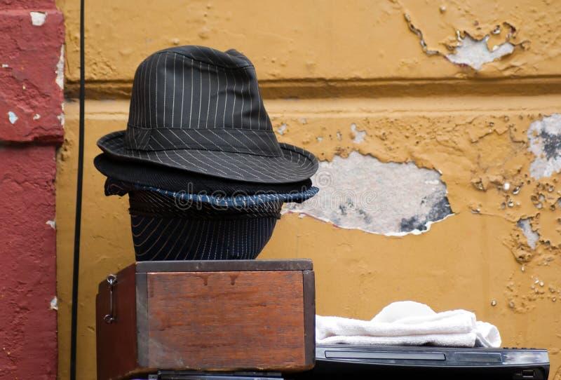 Cappelli di tango fotografia stock