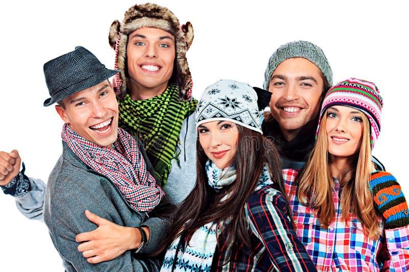 Cappelli e sciarpe immagini stock libere da diritti