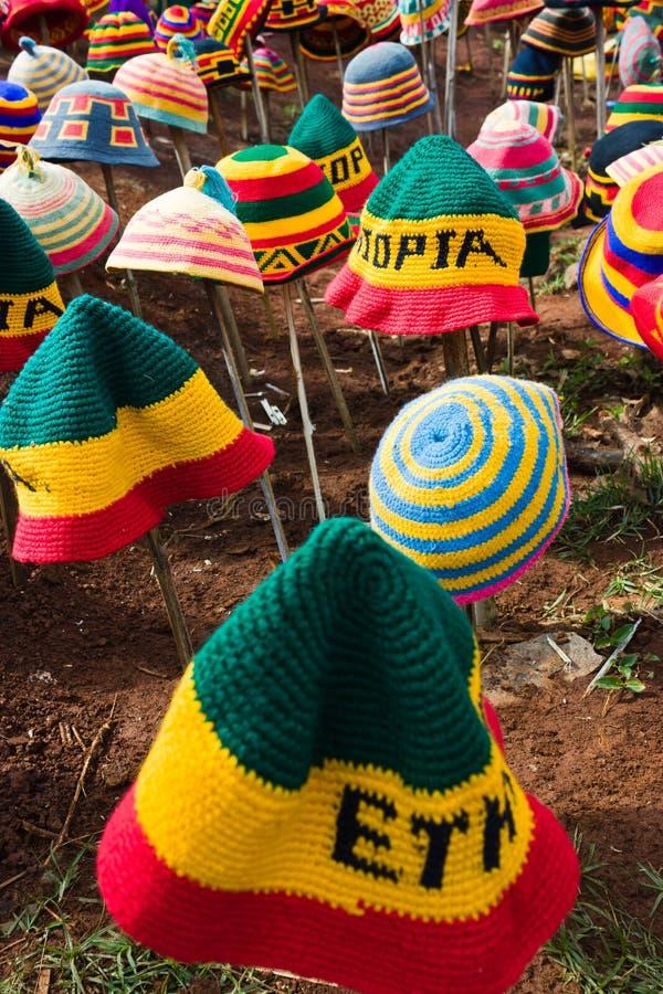 Cappelli etiopici fotografie stock