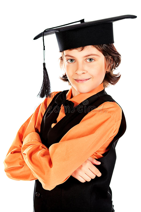 Cappello accademico fotografia stock