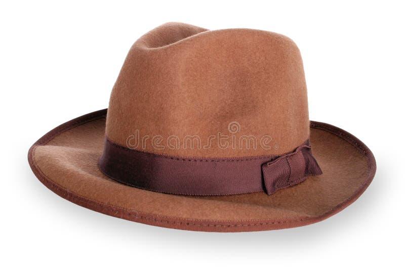 Cappello classico del mens fotografie stock