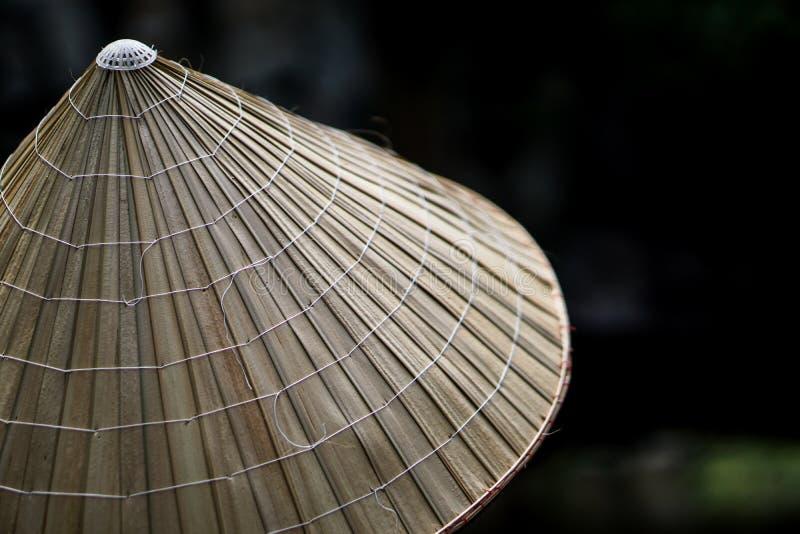 Cappello coloniale vietnamita tradizionale fotografie stock