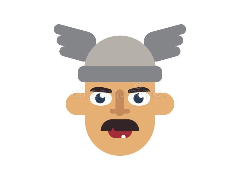 Cappello d'uso dell'uomo di vettore sul Blackground bianco illustrazione vettoriale