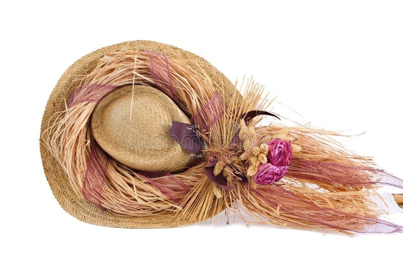 Download Cappello Decorativo Con I Fiori Falsi In Cima Esso Immagine Stock - Immagine di disegno, protezione: 7320335