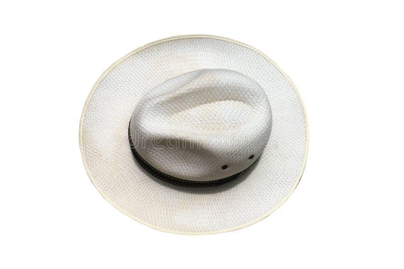 Cappello degli uomini bianchi fotografia stock
