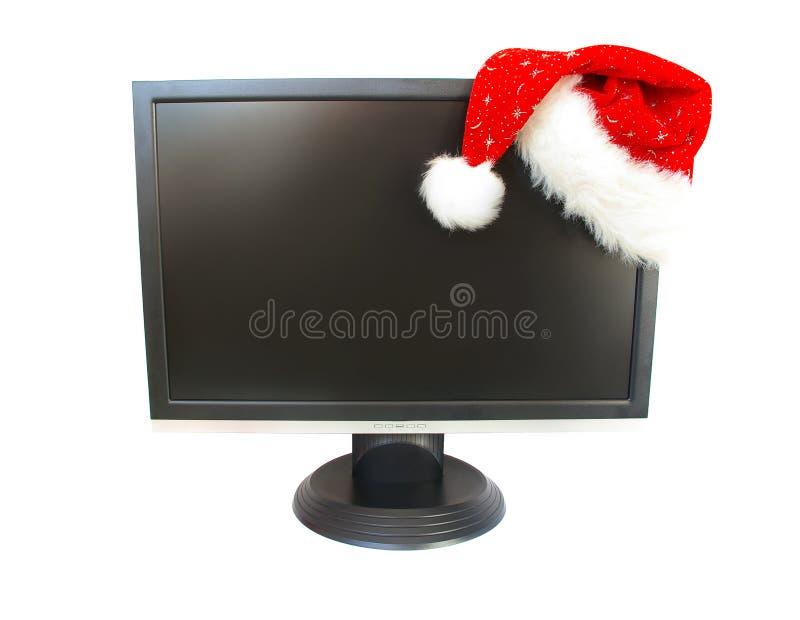 Download Cappello Del Babbo Natale E Del Video Immagine Stock - Immagine di regali, natale: 7303447