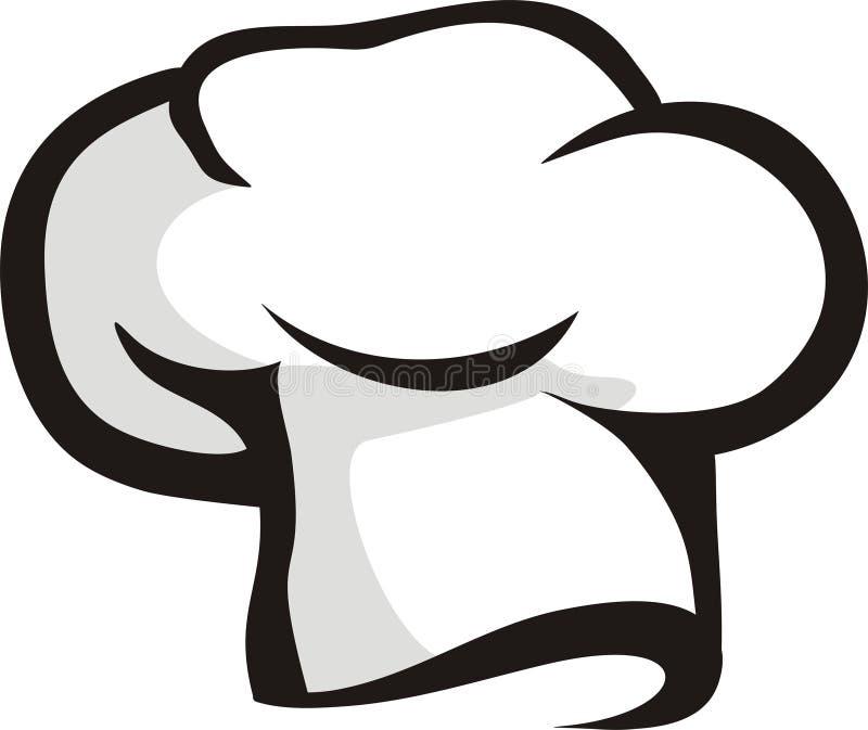 Cappello del cuoco unico illustrazione vettoriale