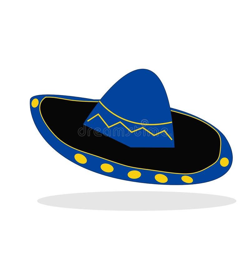 Cappello del Mariachi illustrazione vettoriale