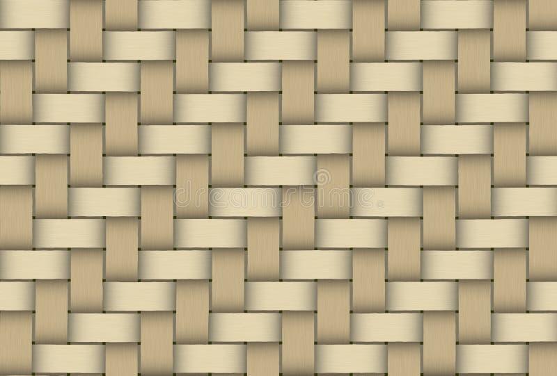 Cappello del modello della paglia di struttura tessuto legno immagine stock