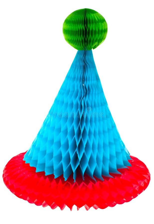 Cappello del pagliaccio. fotografia stock