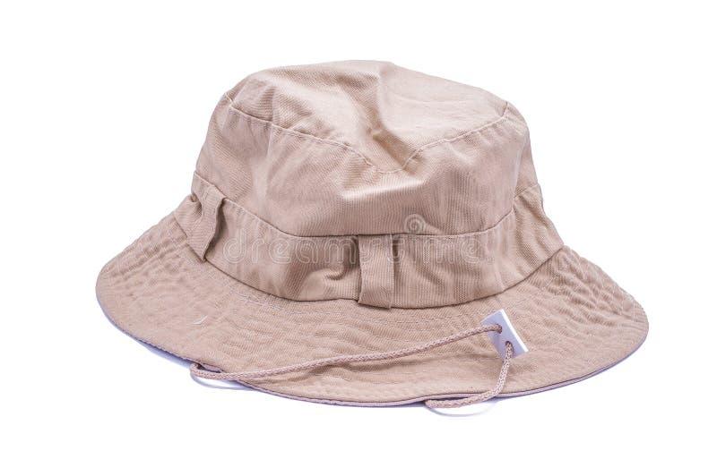 Cappello del secchio fotografia stock libera da diritti