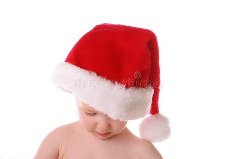 Cappello della Santa diritto giù fotografia stock libera da diritti