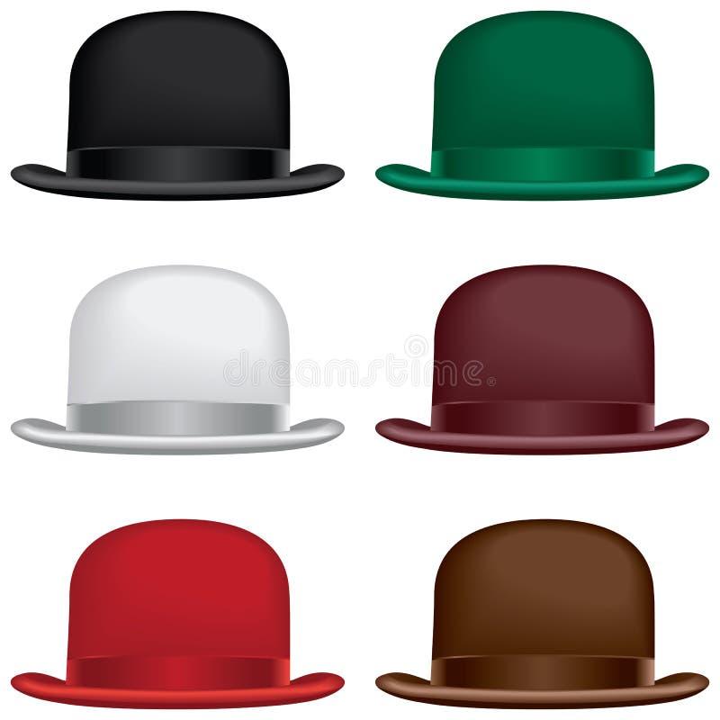 Cappello di giocatore di bocce illustrazione vettoriale
