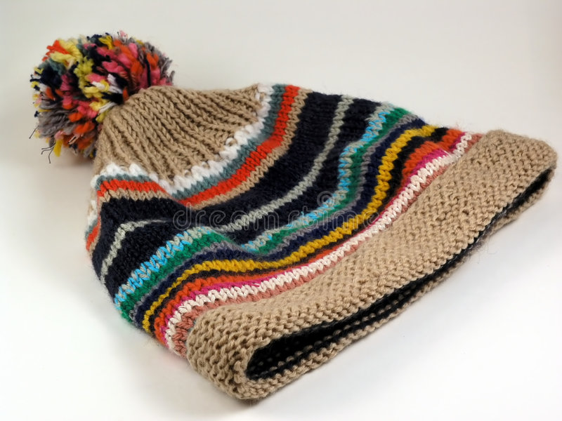 Cappello di inverno fotografie stock