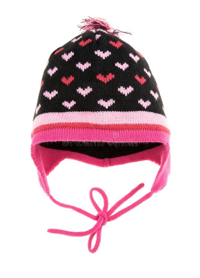 Cappello di inverno dei bambini fotografia stock